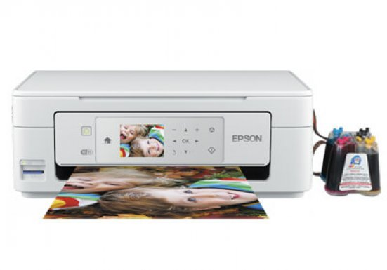 фото МФУ Epson Expression Home XP-445 с СНПЧ