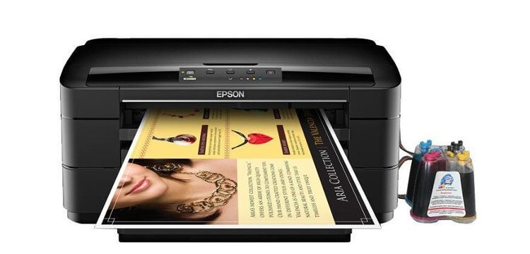 Epson WorkForce WF-7010 с СНПЧ 4