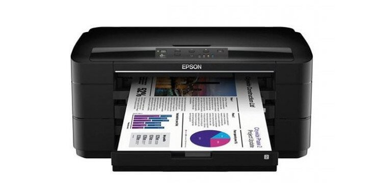 Epson WorkForce WF-7010 с СНПЧ 5