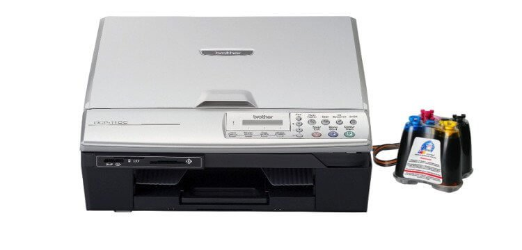 Brother DCP 310CN с СНПЧ 3