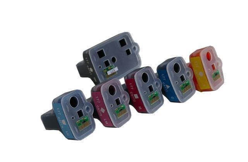 изображение Перезаправляемые картриджи для HP PhotoSmart D7100 series (картриджи 02, 363, 177)