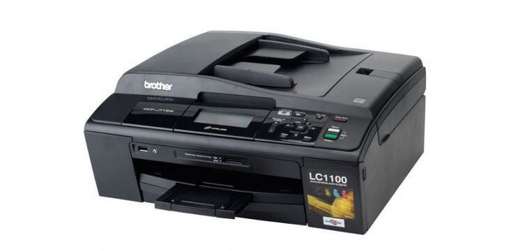 Brother DCP-J715W с СНПЧ