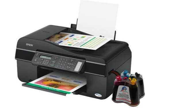 изображение МФУ Epson Stylus Office TX300F с СНПЧ