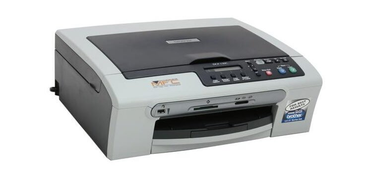 Brother DCP 130C с СНПЧ