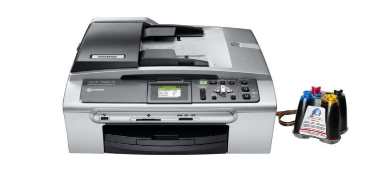 Brother DCP 560C с СНПЧ