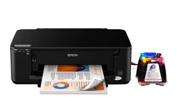 EPSON WorkForce 60 с СНПЧ