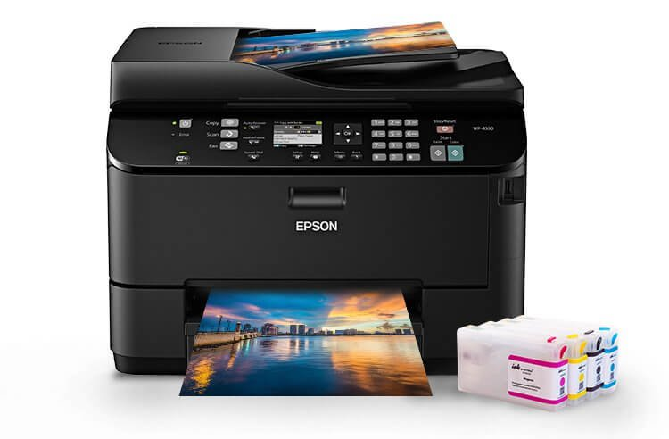 изображение МФУ Epson WorkForce Pro WP-4530 Refurbished с ПЗК