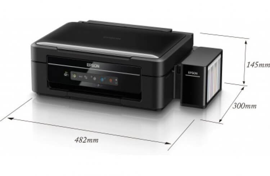 Epson L366  с чернилами INKSYSTEM
